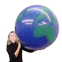 Extra Large 36 inch Earth Balloon