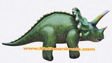 giant 10 ft inflatable dinosaur triceratops