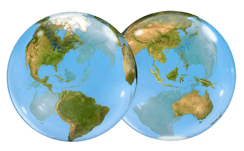 photo quality earth globe balloons