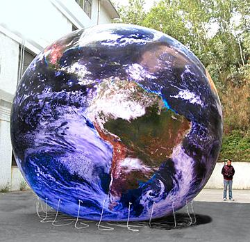 Gigantic Inflatable Planet Earth Globe Balloon Giant
