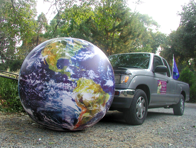 earth globle inflatable 52 inch