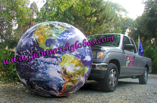 earth globe balloon inflatable 52 inch