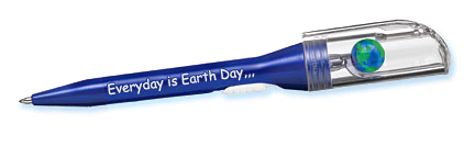 earth pen - Everyday is Earth Day printed on side