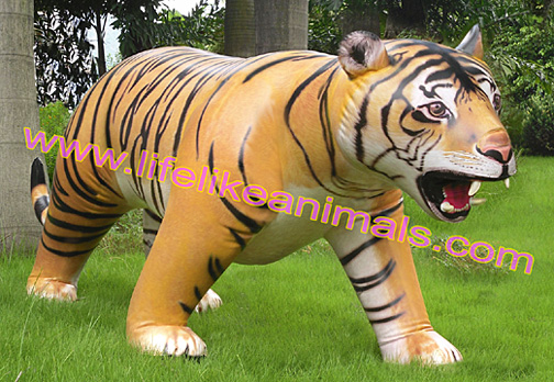 giant inflatable tiger