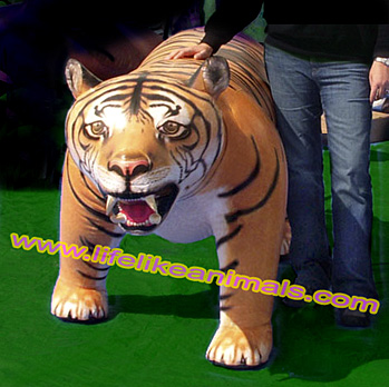 giant inflatable bengal tiger face