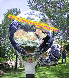 Gigantic Inflatable Planet Earth Globe Balloon Giant
