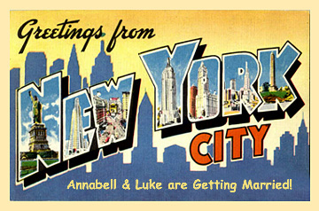 Custom greetings from your state 1950s style vintage postcards and greetings from new york postard m4hsunfo