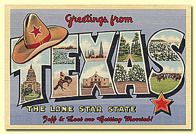 Save the date cards and photo postcards for weddings greetings from texas m4hsunfo
