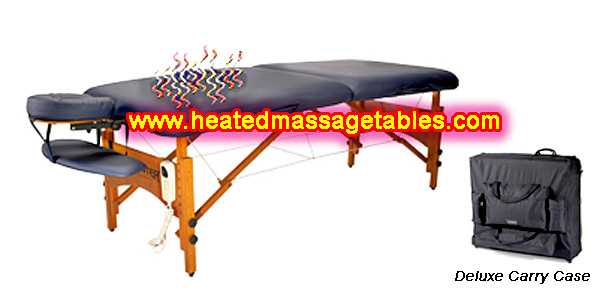 heated massage table