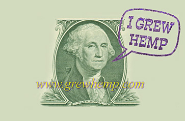 i grew hemp rubber stamp - George Washingtion Grew Hemp
