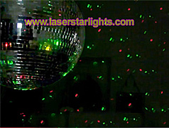 laser disco lights