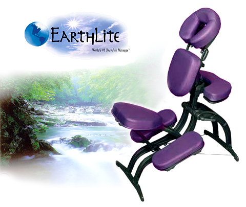 earthlite deluxe portable massage chair
