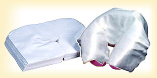 disposable headrest covers for massage