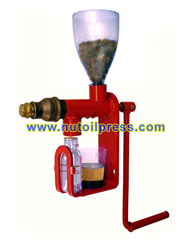 Nut and Seed hand crank oil press - cold pressed expeller