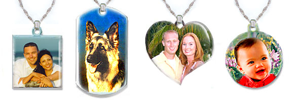 Emamel Photo Pendants