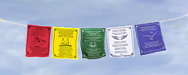 Prayer Flags Univeral Blessings
