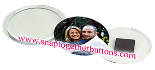snap together button magnets