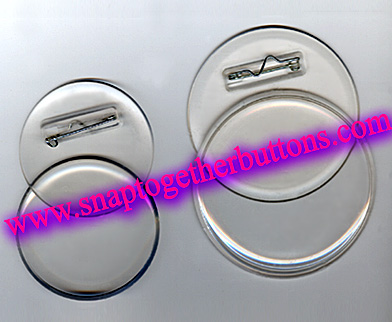 Snap together buttons diy instant clear photo button round and snap together buttons clear pin solutioingenieria Image collections