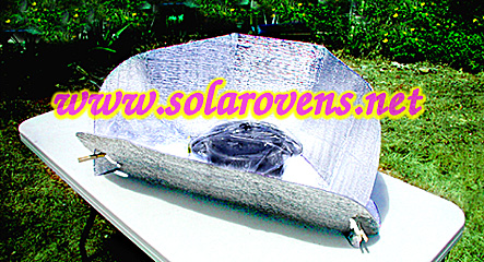 Simple Portable Lightweight Solar Panel Cooker