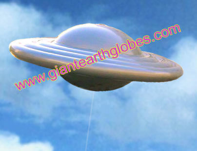 UFO infatable balloon Unidentified Flying Object