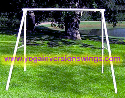 A frame metal yoga swing stand